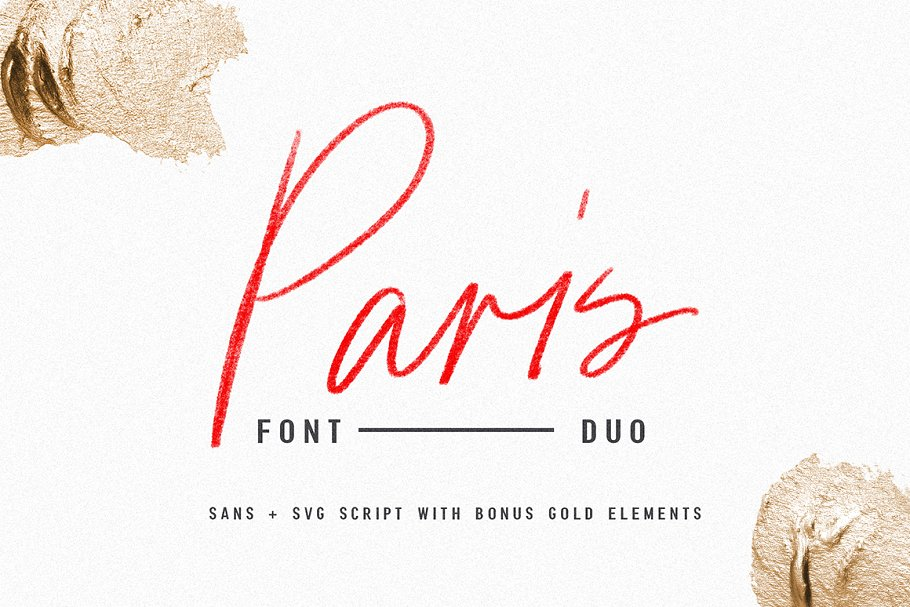 Paris Font Duo