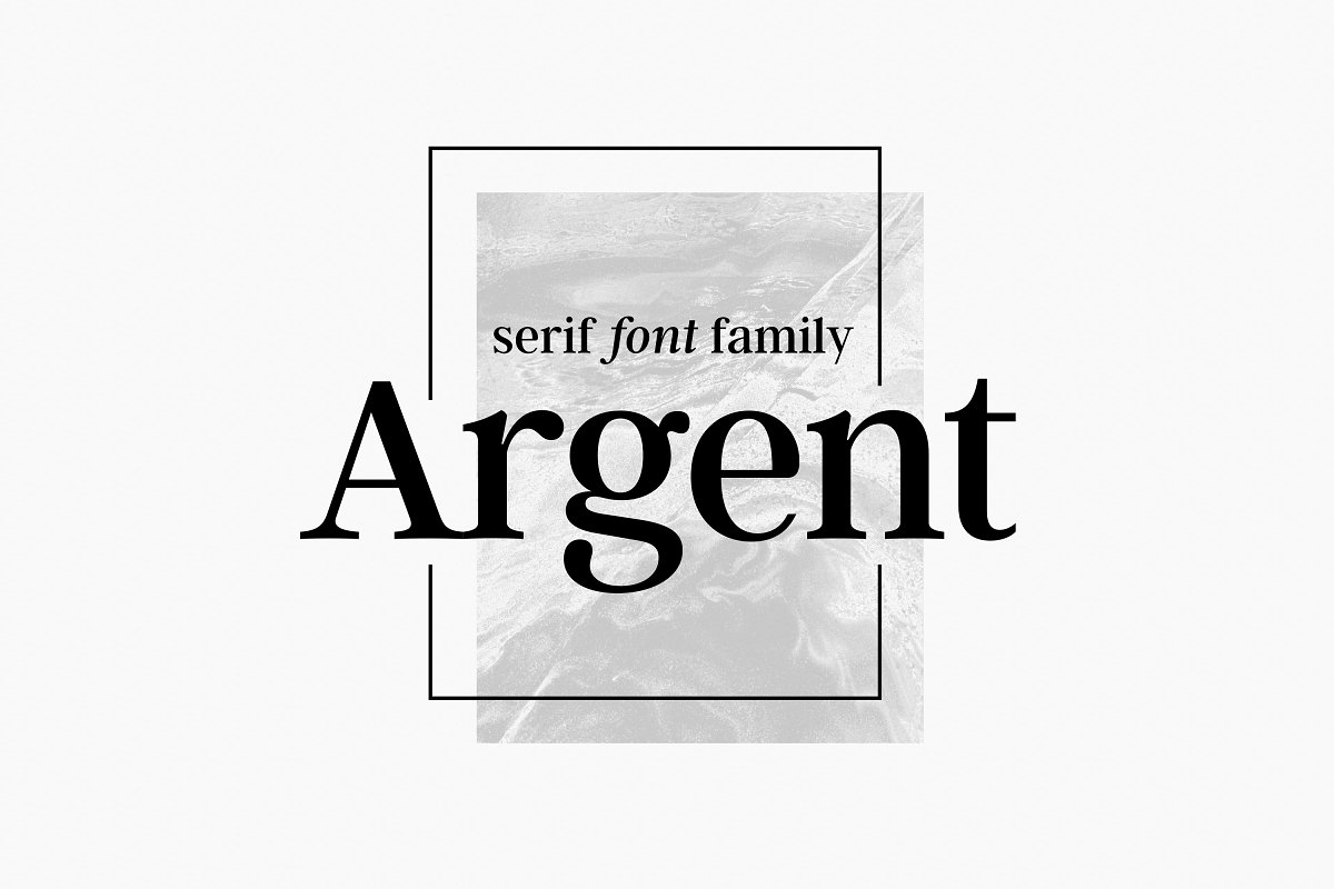 Argent CF Font Family Free Download