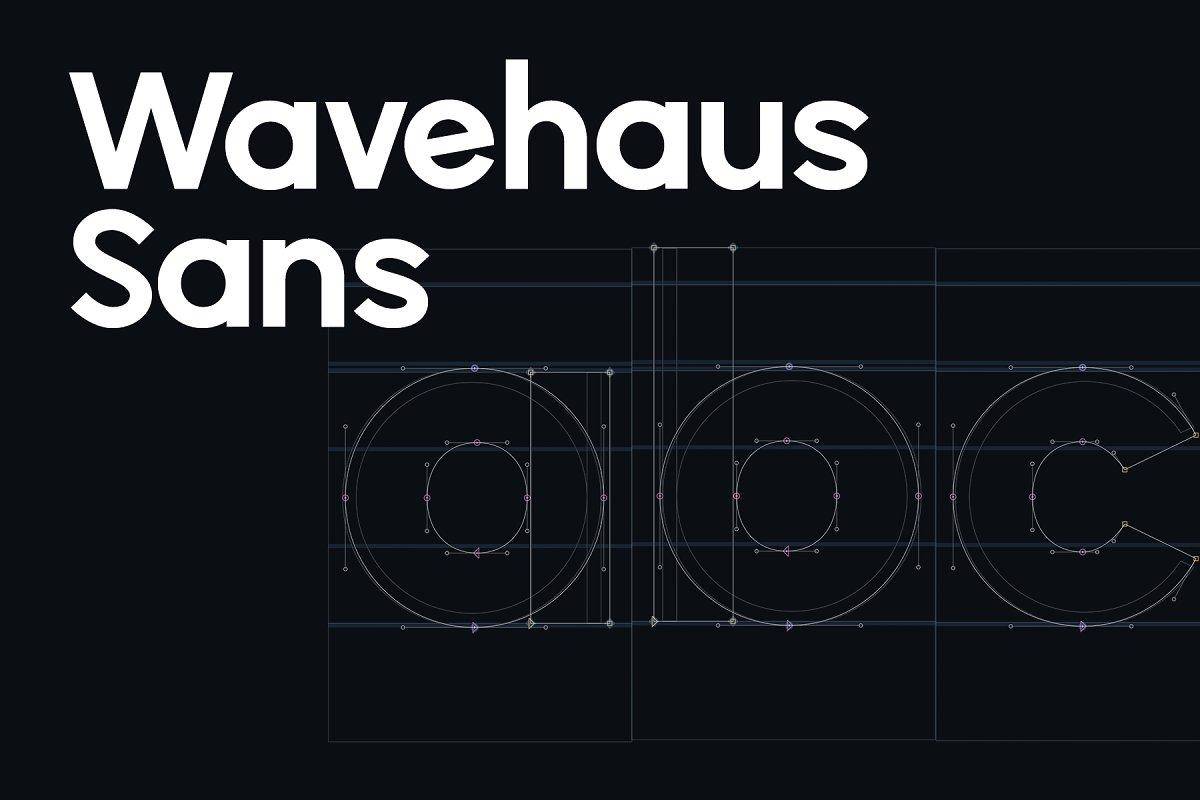 Wavehaus Sans Font Family Free Download