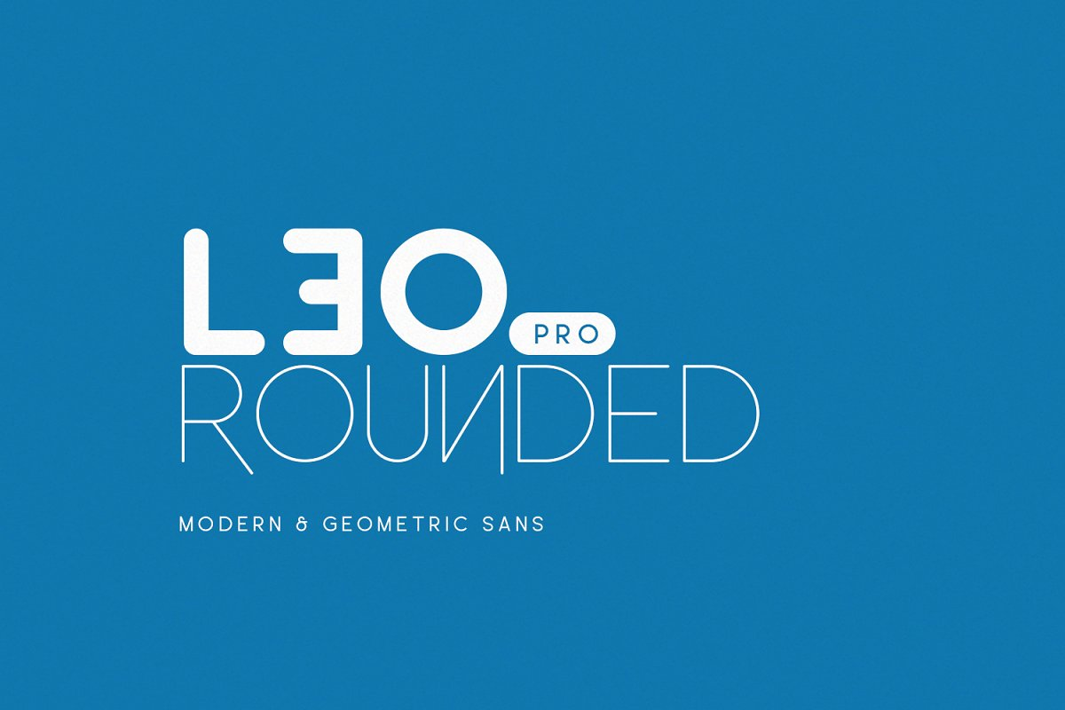 leo rounded font family free download