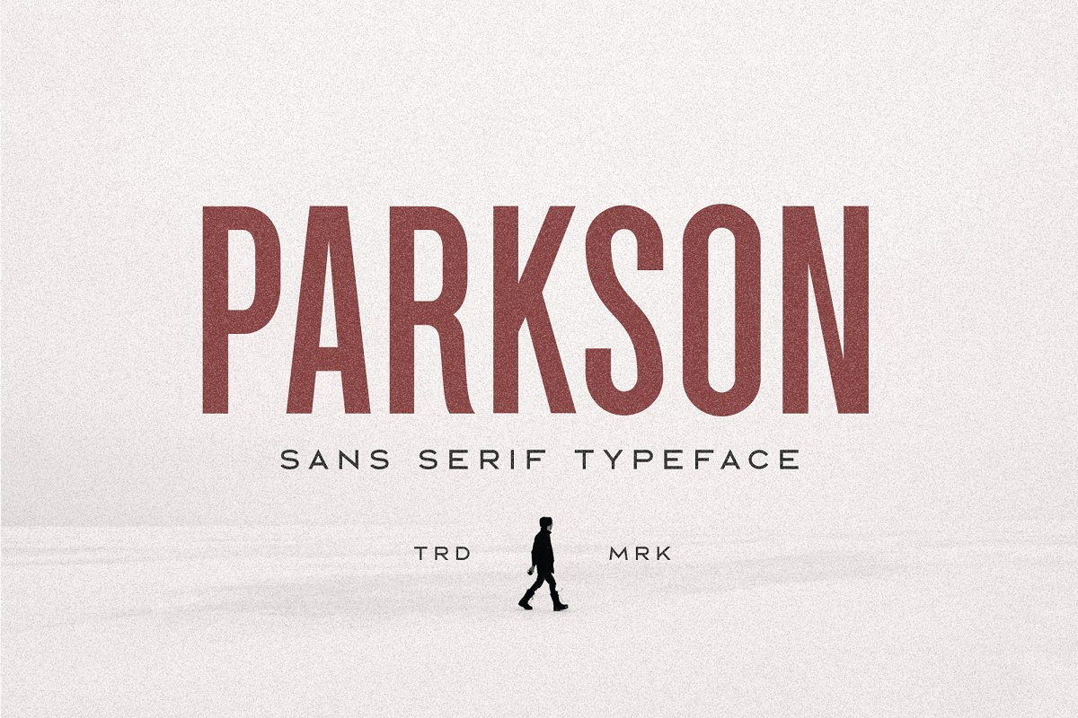 Parkson Sans Serif font family free download