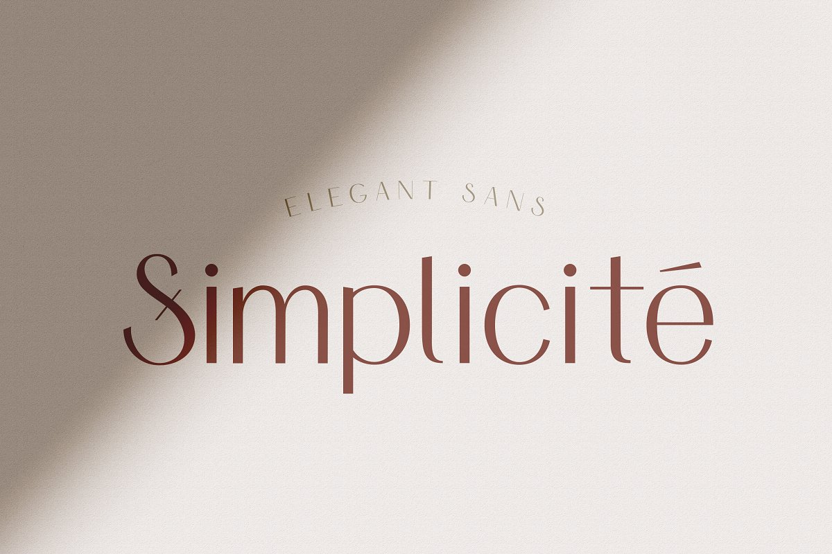 Simplicite font family free download