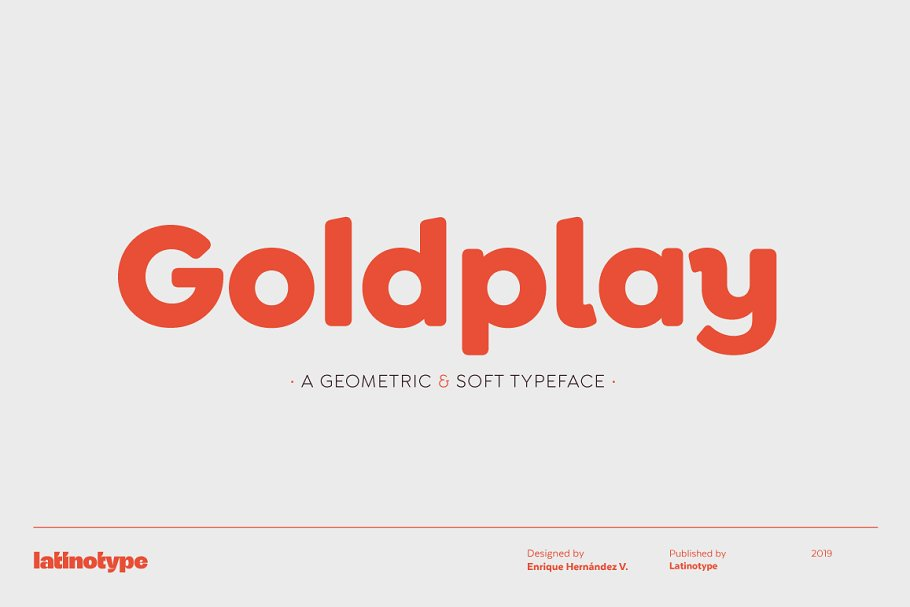 Goldplay font family free download