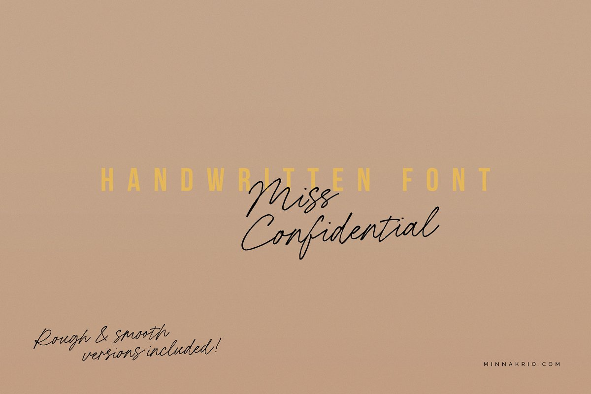Miss Confidential Font Family Free Download