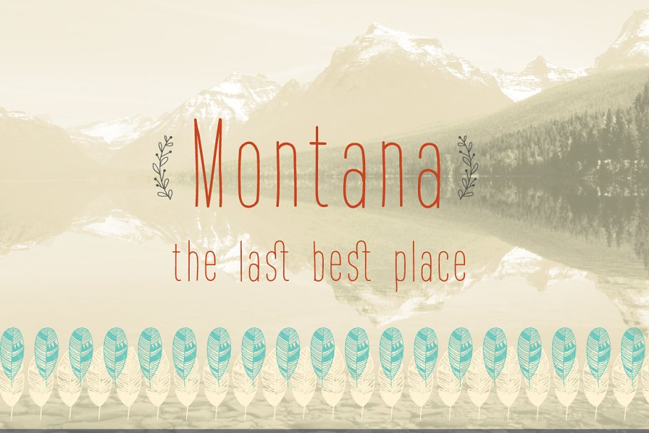 Montana font family free download