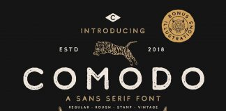 Comodo Font Family free download