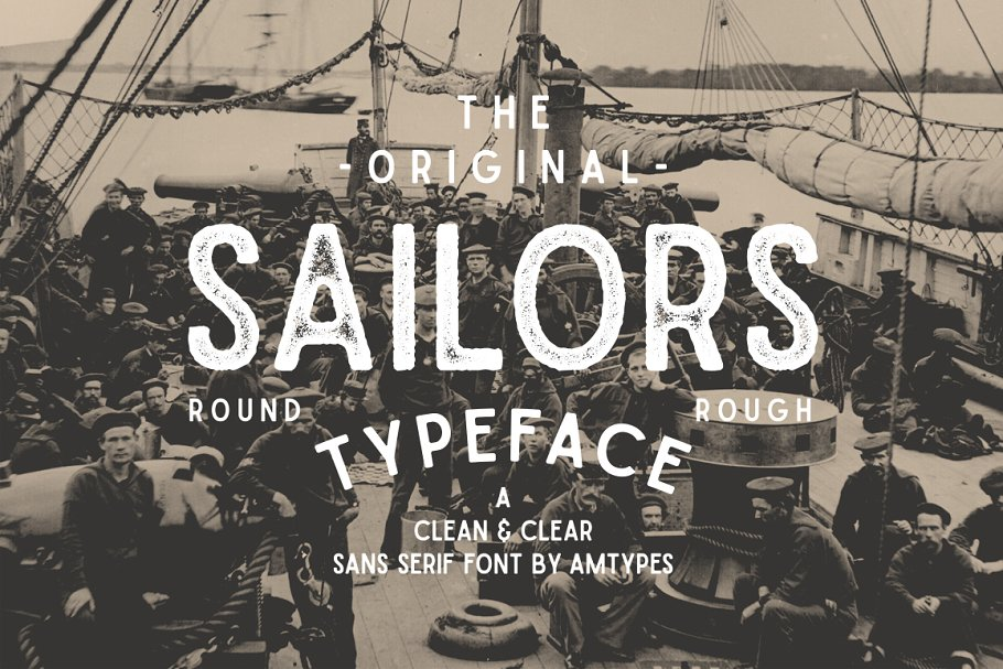 Sailors font family free download