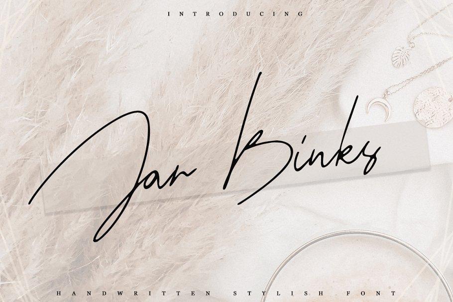 Jar Binks font family free download