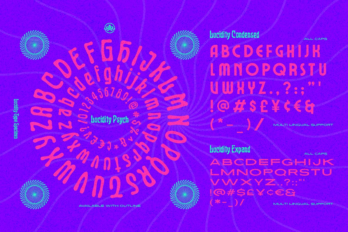 Lucidity Font