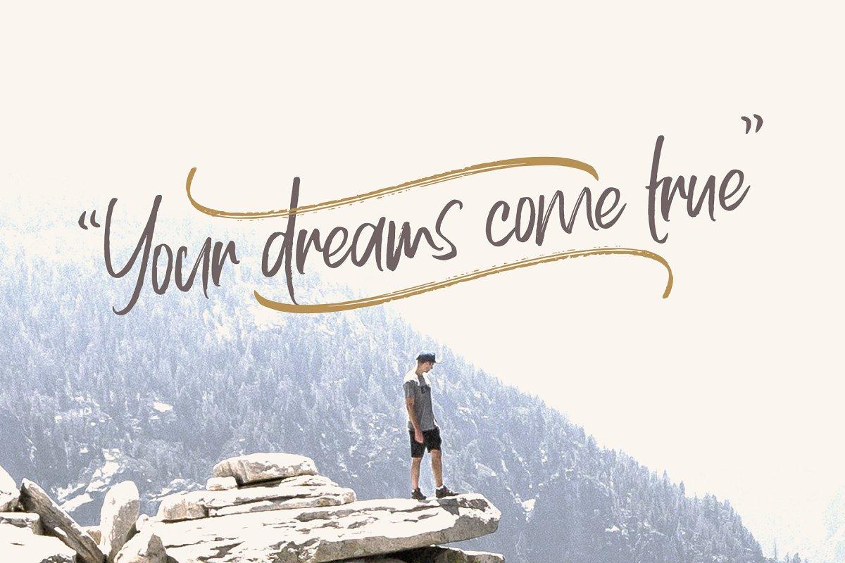 Allison Dream Font