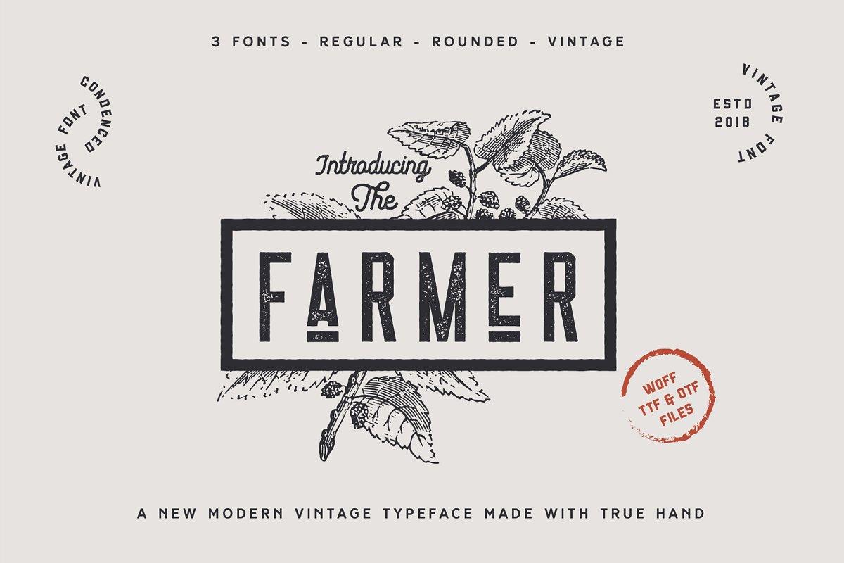 The Farmer Font