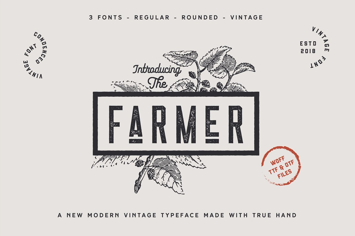 The Farmer Font