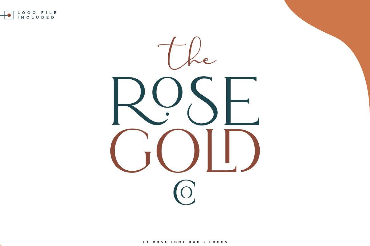 La Rosa Font Duo