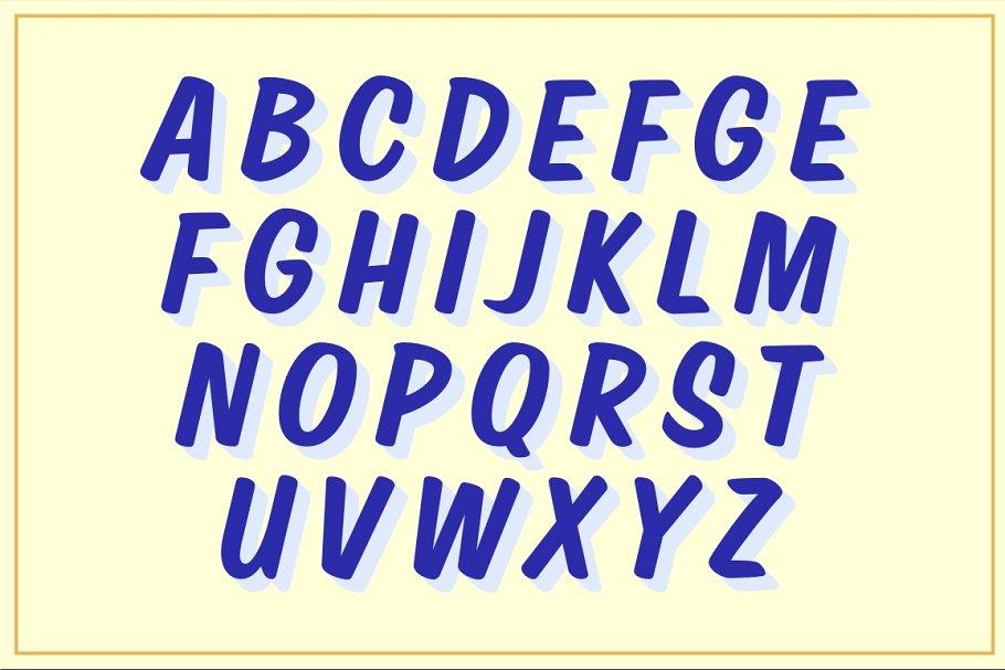 Shop Casual Font