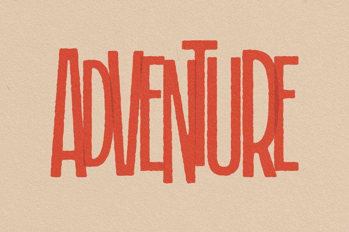 Grandmaid Condensed Font