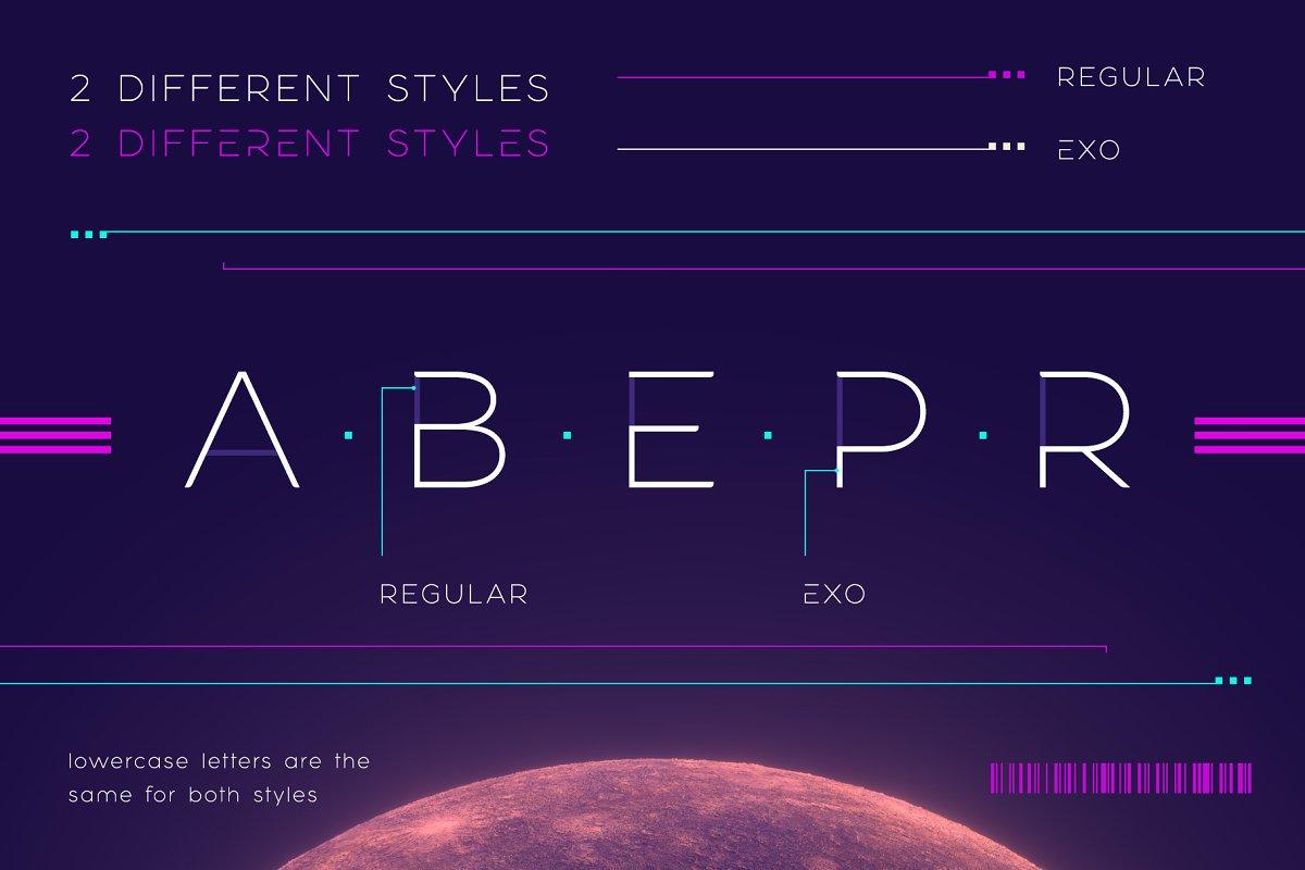 Exophis font