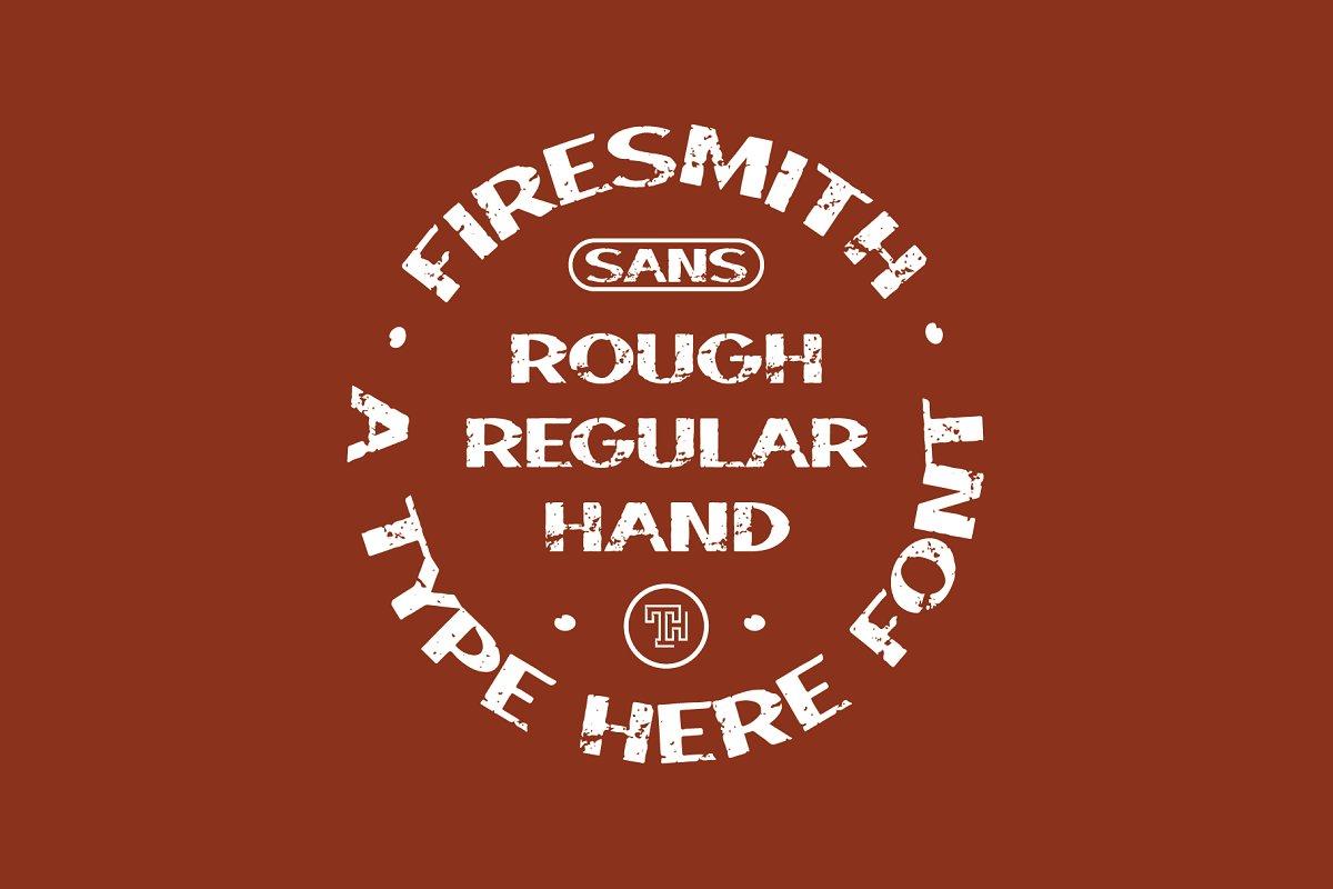 Firesmith Sans Font