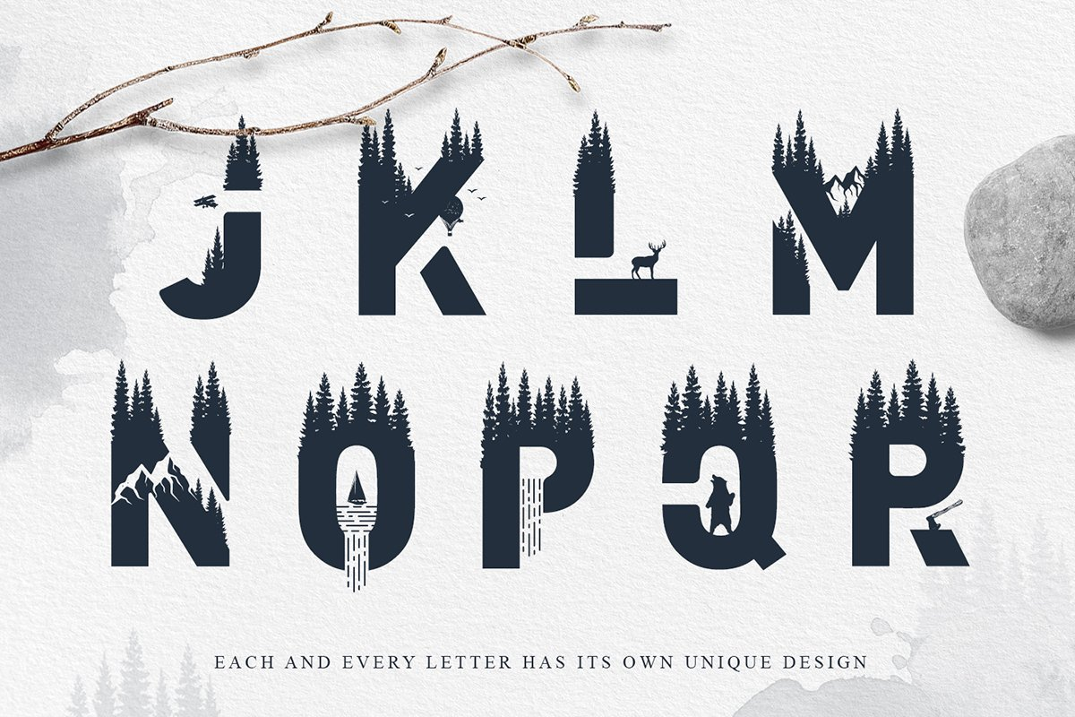 Into The Wild Font