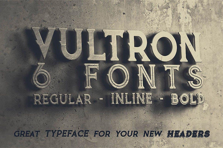 Vultron Font