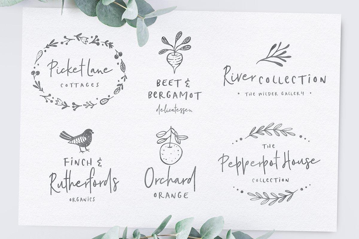 Poppit & Finch Fonts